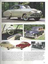 1949 Chevy + Convertible + Pickup Truck Article - Must See !!