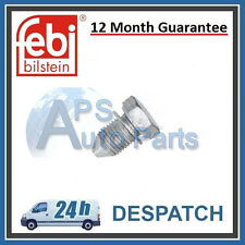 VW Multivan Transporter Caravelle Mk5 Oil Pan Sump Drain Plug Febi N90813201 New