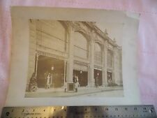 Orig 1889 Paris Exposition Universelle 9x11 Albumen Photo Building