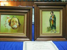 2 original Hoppin oil paintings with certificate