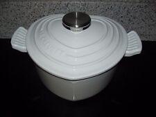 Le Creuset White 2 Qt Heart Shaped Dutch Oven (1.9 L)  Rare