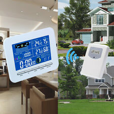 Wireless Color Display Weather Station Indoor Outdoor Thermometer Humidity °C/°F