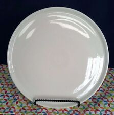 "Fiesta White 12"" Pizza Tray - Fiestaware HLC Baking Serving Tray Cookie Plate"