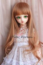 1 3 8-9 Bjd Pullip Wig Dal DD DOD SD LUTS DOC supper Dollfie Doll wigs brown C18