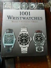 1001 Wristwatches Book .Cover photo Patek Philippe,Rolex,Breitling.Heuer,etc.
