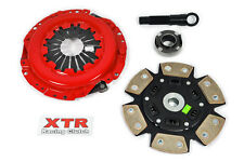 XTR RACING STAGE 3 CERAMIC MIBA 6-PUCK CLUTCH KIT for HONDA ACCORD PRELUDE 2.0L