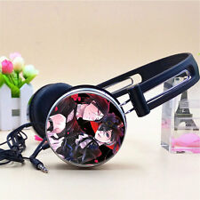 Anime Black Butler Earphone Stereo Bass Headband Headphone MP3 Phone PC Music AA