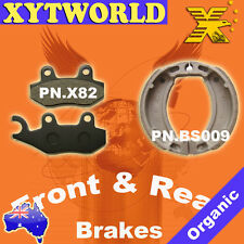 Front Rear Brake Pads Shoes Yamaha Crypton 110cc 2004
