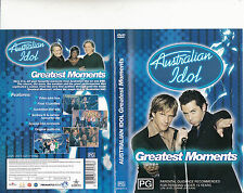 Australian Idol:Greatest Moments-2003/9-TV Series USA-3 Hours-DVD