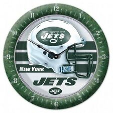 Wincraft NFL Round Wall Game Clock New In Box New York Jets