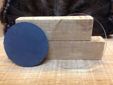"""2-   Disc for Friction Pot Turkey Calls   """" """"Build Your Own """" Glass & Slate"""