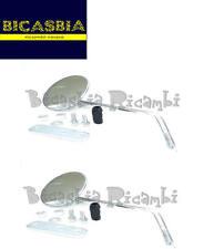6260 - SPECCHIO CROMATO SINISTRO + DESTRO VESPA 125 150 200 PX - PX ARCOBALENO