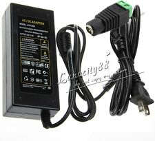 5A 60W Power Supply Adapter DC12V+Free US Plug + FREE DC For 5050 5630 LED Strip