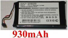 Batterie Für GARMIN Nuvi 1200 12051205W1250 1255W Nuvi 140T, Nuvi 150T 930mAh