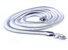 "Hot Stainless Steel Women/Men Snake Necklace Lucky Chain 24""Link Fashion Jewelry"