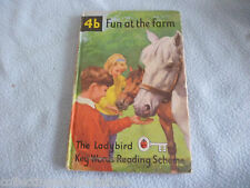 1965  Ladybird Book 4b Fun At The Farm   Key Words Reading Scheme