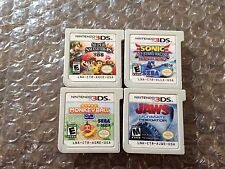 Super Smash Bros. + JAWS + Monkey Ball + Sonic All-Star Racing Transformed (3DS)