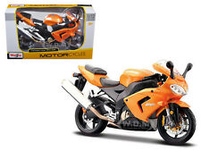 KAWASAKI NINJA ZX 10R ORANGE BIKE 1/12 MOTORCYCLE MAISTO 31105