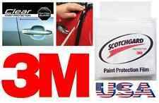 3M Scotchgard 4 Door Edge Scratch Clear Film Guard Trim Protector Any Car Sedan