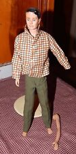 VINTAGE  BARBIE KEN DOLL MARKED Ken by Mattel Inc. W/ Clothes GUC
