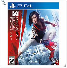 PS4 Mirror's Edge: Catalyst SONY PlayStation Games Action EA