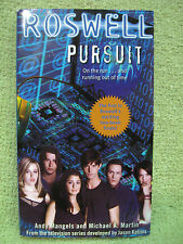 ROSWELL : PURSUIT Book SERIES FINALE Part 1 2003 Andy Mangels TV SHOW Martin