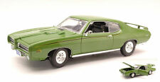 Pontiac Gto Judge 1969 Green 1:18 Model MOTORMAX