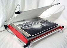 Smaltatrice per stampe su carta baritata / Formato 30x40 con 2 piastre cromate