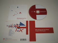 BILLY BRAGG & THE BLOKES/ENGLAND HALF ENGLISH(COOK VINYL/COOK CD 222)CD ALBUM