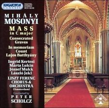 Mass in C Major, Consecrated Graves (Franz Liszt Chorus) CD NEW