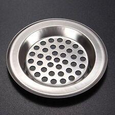 Stainless Steel Mesh Sink Strainer Kitchen Bath Hair Catcher Trap Drain Filter