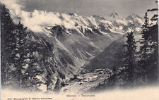 CPA SUISSE SCHWEIZ MÜRREN panorama photo gabler stamped 1910
