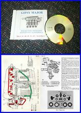 Gipsy Major Engine Manual on CD - Tiger Moth etc