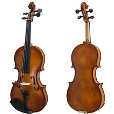 Student 4/4 Violin w Case, Rosin, Pitch Pipe+Extra Bow