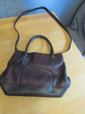 Vintage Wilsons Leather Soft BROWN Leather Small Mini Purse Womans Girls Bag