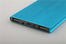 20000mAh Portable Battery Charger Dual USB Port Power Bank for Tablet/Cellphone
