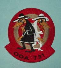 US ARMY Co C 1st BN 7th SPECIAL FORCES GROUP ODA 731 SPY VS SPY MILITARY PATCH