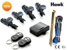 UNIVERSAL CAR VAN  REMOTE KEYLESS CENTRAL 4  OR 2 DOORS LOCKING KIT FREE UK P+PC