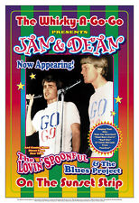 Surf Music: Jan and Dean at  Whisky A Go Go  Concert Poster 1965