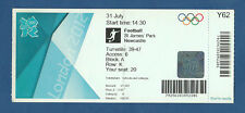Orig.Ticket   Olympische Spiele LONDON 2012  FUSSBALL  FRANKREICH - KOLUMBIEN !!