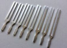 Harmonic Solar Spectrum Set of 8 Healing Tuning Forks with Activator