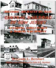 Central Railroad of New Jersey STATIONS, STRUCTURES & MARINE Equipment, NEW BOOK