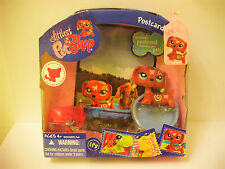 Littlest pet shop#1010#-RARITÄT!-BUTTERFLY TATTOO DACHSHUND DOG!-NEW!-BRAND NEU!