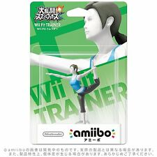 NEW Nintendo 3DS Wii U Amiibo Wii Fit TRAINER Super Smash Brothers Japan F/S