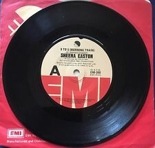 45 Sheena Easton 9 To 5 (Morning Train) b/w Moody (My Love) EMI Near VG+