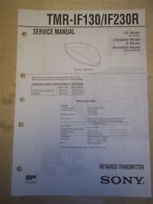 Sony Service Manual~TMR-IF130/IF230R Infrared Transmitter~Original~Repair