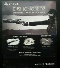 DISHONORED 2 PS4 DLC - Imperial Assassin's PACK ONLY (NOT FULL GAME)