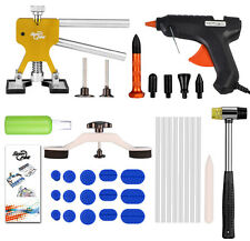 PDR Tool Paintless Dent Removal Puller Lifter Glue Gun Auto Body Hail Repair Kit