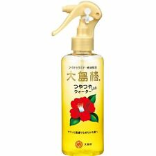 Japanese Oshima Tsubaki Camellia Oil Hair Water 180ml natural Made in Japan