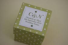 1 x handmade personnalisé vert polka dot faveur boîtes-toute quantité tout design